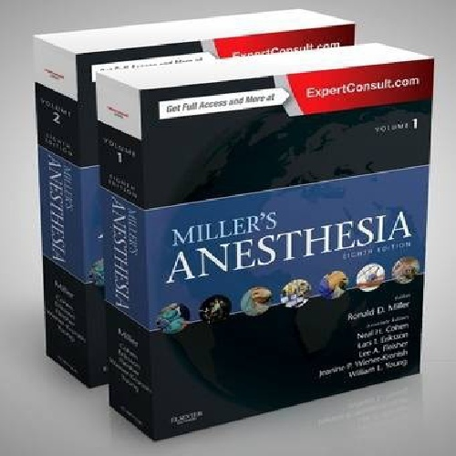 Miller's Anesthesia Separated, 2-Volume Set 8th Edition2015