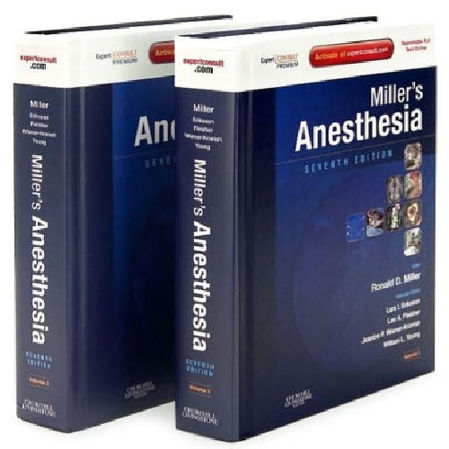 Millers Anesthesia Separated 2 Volume Set 8th Edition 2015