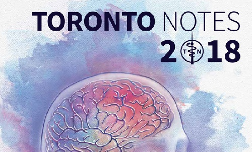 Toronto Notes 34th Edition 2018